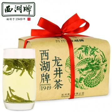 108元包邮!西湖牌 1949雨前龙井茶200g散装(2019年新茶)