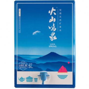 ¥29.9包邮【箱式桶装水】火山鸣泉5升装 适合泡茶自饮的好水