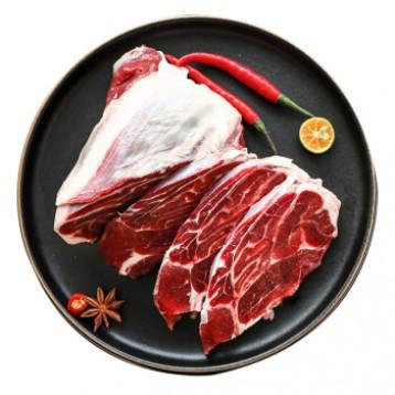 Plus会员68.80包邮!Grand Farm 大庄园 乌拉圭进口牛腱子肉 1kg