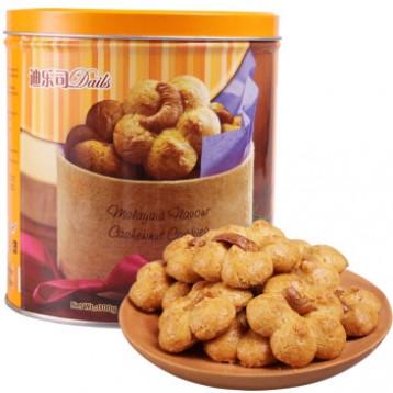 ¥26.80元!马来西亚进口,Delos 迪乐司 腰果酥曲奇饼干铁盒装300g