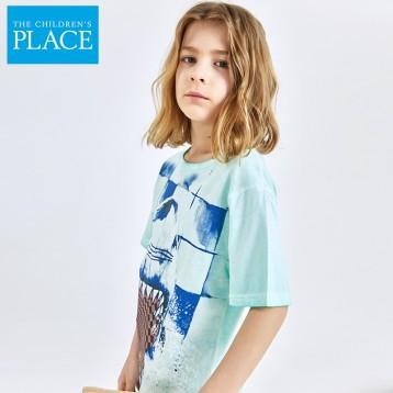 19元包邮!北美童装TOP品牌 The Children's Place 男童纯棉短袖T恤(80-165cm)