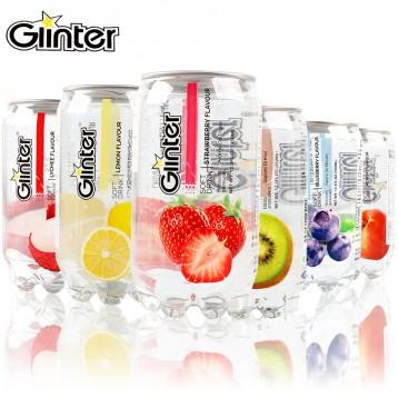 14.90元包邮!世界最好喝饮料之一!马来西亚 Ginter 运得 350ml*6 透明罐装