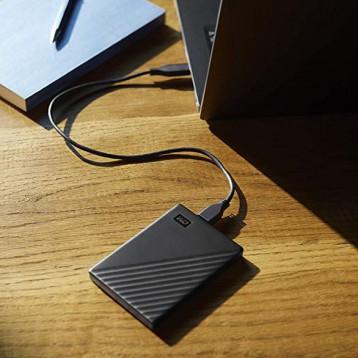 724.51元德国直邮!Western Digital 西部数据 5TB My Passport 便携式外置硬盘
