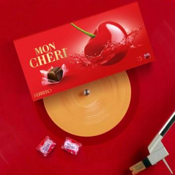 Ferrero 费列罗 雪丽樱桃酒心黑巧克力礼盒 15颗157g