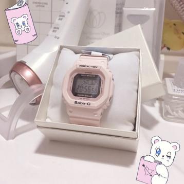 Casio BABY-G BGD-560-4ER日本樱花粉石英女表