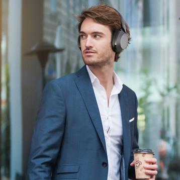 Philips 飞利浦 TAPH805 Hi-Res 高解析头戴式HIFI无线蓝牙降噪耳机 亚马逊海外购