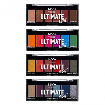 NYX Professional Makeup Ultimate Edition Petite 限量6色眼影盘 亚马逊海外购