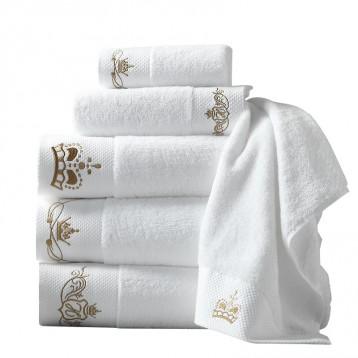 19.90元包邮!五星级酒店品质,鸿创 加大加厚全棉浴巾140×70cm/500g