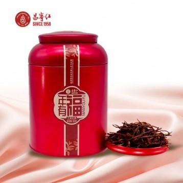 川宁供应商!昌宁红 2019年特级蜜香型红茶年有福120g罐装39.9元包邮(需领券)