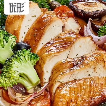 69.90元包邮!高蛋低脂健身餐:优形 速食沙拉鸡胸肉3口味100g*9袋+赠新品蛋白棒