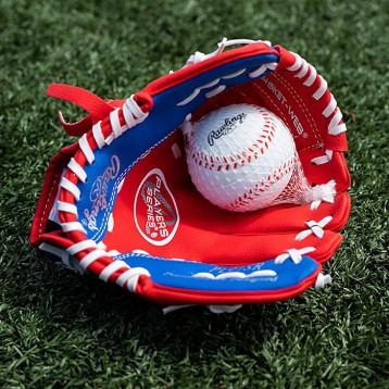160.30元美國直郵!Rawlings 羅林斯 Players系列9 英寸PL91SR青年棒球手套(5-7歲)