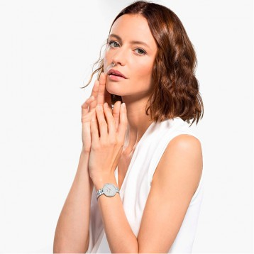 Swarovski 施华洛世奇 Cosmopolitan 女式不锈钢石英手表亚马逊海外购
