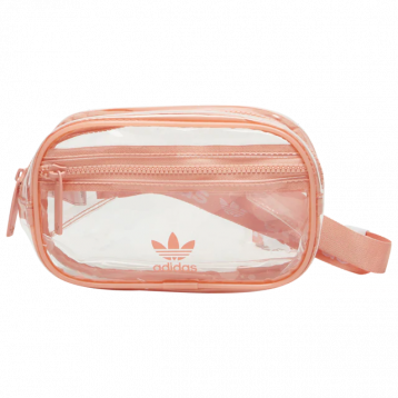 adidas Originals 三叶草 PVC中性透明腰包 特价$19.99(¥163.92)
