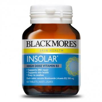Blackmores 澳佳宝 Insolar 烟酰胺维生素B3精华片 60粒 7.9折+满额享9折
