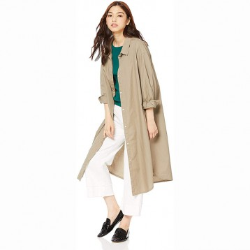 日本Snidel ORGANIC 衬衫连衣裙 SWFO194027(两色可选)348.83元起日本直邮!