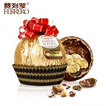 58元包邮!Ferrero 费列罗 璀璨奢华大金球240g