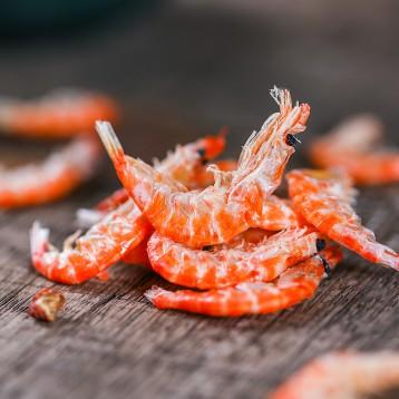 19元包邮!渔食客 淡干虾皮特级无盐长岛海米虾米500g