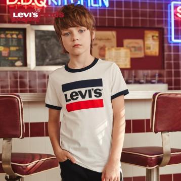79元起包邮!Levi's 李维斯 青少年纯棉短袖T恤(80-160cm/多款花色)