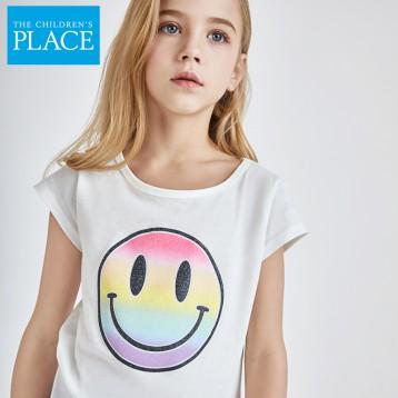19元包邮!美国专业童装品牌:绮童堡 女童短袖T恤(12个月-160cm 多款 有断码)