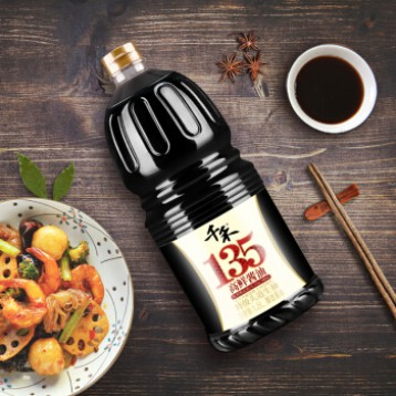 PLUS会员,千禾 0添加剂 高鲜135特级头道生抽酱油 1.8L*4件