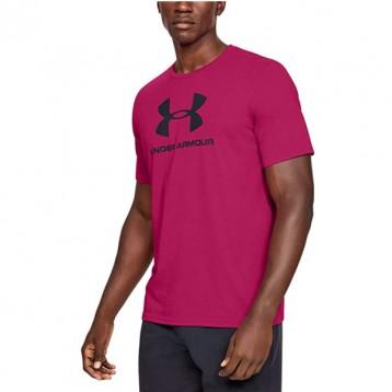 多色多码,Under Armour 安德玛 Sportstyle Logo 男士印花短袖T恤1329590