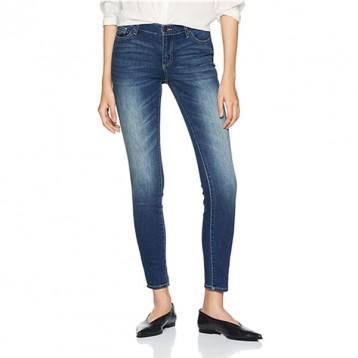 W26/L32码,A|X Armani Exchange 阿玛尼副牌 J01 女士中腰紧身牛仔裤
