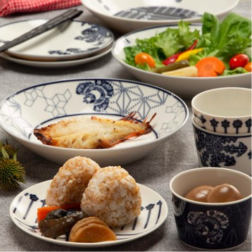 Narumi 鸣海 Kioi纪尾井系列  3人份日式餐具套装 亚马逊海外购