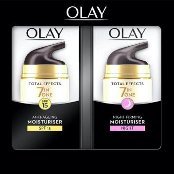 Olay 玉兰油 多效修护系列 抗衰老舒润日晚霜套装 亚马逊海外购