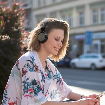 Philips 飞利浦BH305 无线蓝牙主动降噪头戴耳机 亚马逊海外购
