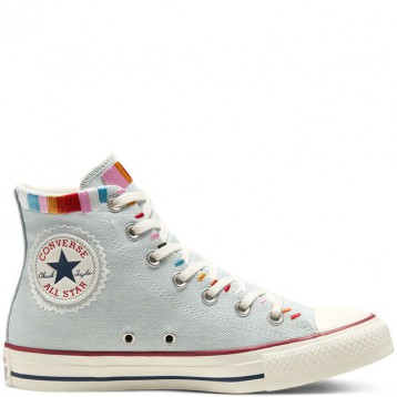 Converse 匡威 All Star 牛仔浅蓝色高帮鞋 折上7.5折价:236.39元