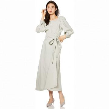 日系连衣裙:snidel 方领图案 连衣裙 SWFO194031 女士¥573.01元