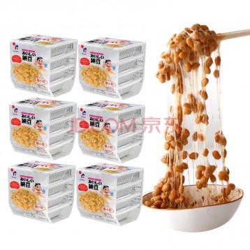 92元24盒包邮!日本进口 北海道拉丝即食纳豆(极小粒)40g*24盒