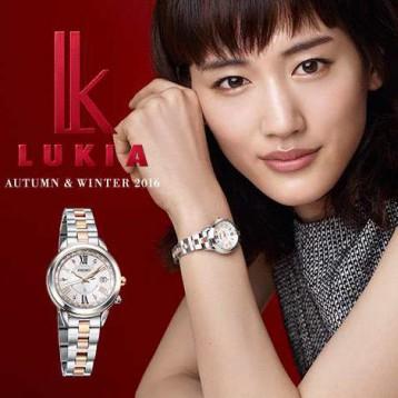 2955.93元日本直邮!SEIKO精工 女士LUKIA光动能电波表 幸福指南SSQV020