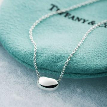 镇店之宝,曲筱绡、Wuli茜同款 Tiffany&Co 蒂芙尼 相思豆纯银项链25185129