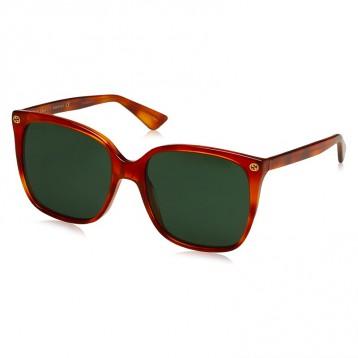 GUCCI 古驰 GG0022S方框太阳镜墨镜 亚马逊海外购