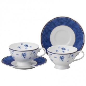 Narumi 鸣海 Shansonet双人下午茶杯碟套装41631-33325 220cc 亚马逊海外购