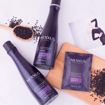 Nexxus 耐科斯 严重损伤修复系列 黑米精华洗发水 400ml 亚马逊海外购