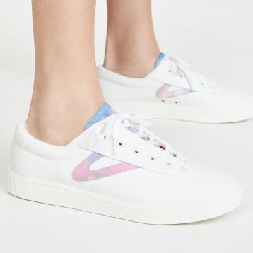 传奇瑞典品牌 Tretorn Nylite 40 Plus 复古帆布运动鞋 6折$48美金