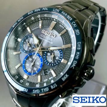 2341.49元美国直邮!Seiko 精工 Coutura系列 SSG021 男士光动能电波表