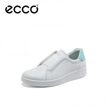 2020春季新款,ECCO 爱步 Soft 4 柔酷4号 女士真皮一脚蹬休闲鞋 856713