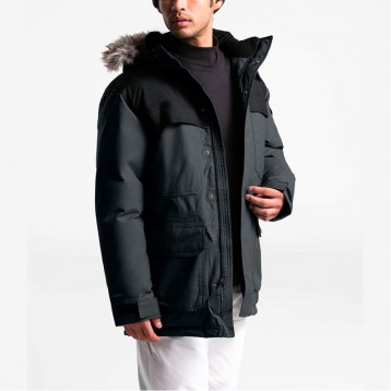 The North Face 北面 McMurdo Parka III 男士550蓬带毛领连帽羽绒服  亚马逊海外购