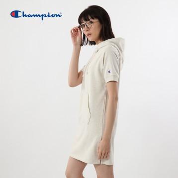 Champion 冠军 CW-K106 女士中长款连帽卫衣 亚马逊海外购