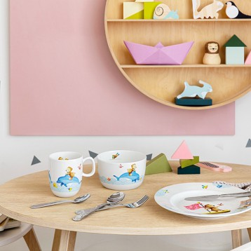 villeroy & boch 唯宝 儿童餐盘陶瓷餐具碗碟套装 亚马逊海外购