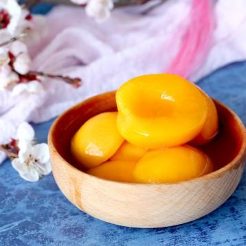 21.90包邮!冰过更好吃:林家铺子 新鲜优质黄桃罐头【0防腐剂0阿斯巴甜 】 425g*4罐