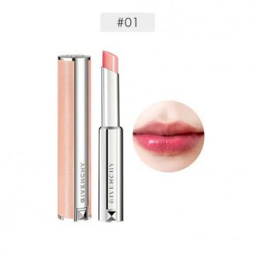 €26欧元包税直邮!Givenchy 纪梵希【小粉唇】高定香榭丝润唇膏2.2g #01 Perfect Pink
