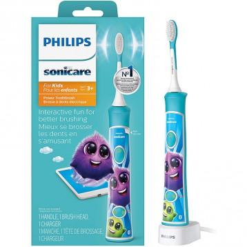 287.76元美国直邮!Philips 飞利浦 Sonicare 儿童声波电动牙刷 HX6321/02(3岁以上儿童)