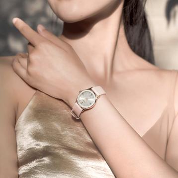 CITIZEN 西鐵城 Axiom公理系列 EM0733-08A 女士光動能晶鉆腕表?亞馬遜海外購