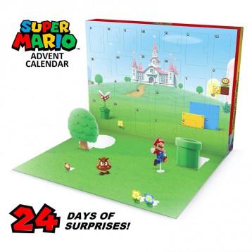 Nintendo 任天堂超级马里奥 圣诞节日历盲盒 24 天惊喜倒计时套装 亚马逊海外购