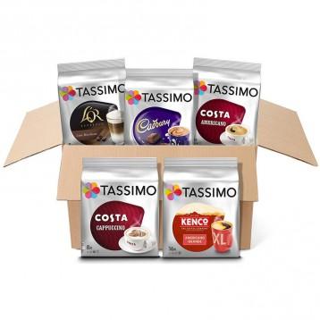 206.94元英国直邮!Tassimo 胶囊咖啡 5中口味组合56杯(Bosch胶囊咖啡机专用)