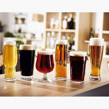 297.02元美国直邮!美国造 Luminarc 乐美雅 N8785 玻璃啤酒杯6件套